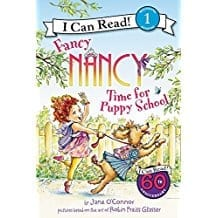 Fancy Nancy Time for Puppy School  Level 1  by Jane O'Connor