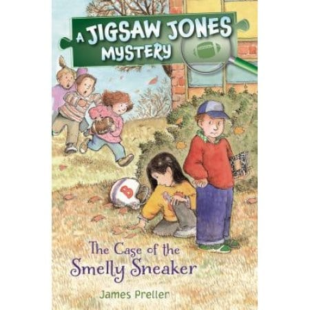 Jigsaw Jones:  The Case of the Smelly Sneaker  by  James Preller