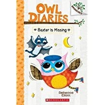 Owl Diaries: Baxter is Missing  by Rebecca Elliot