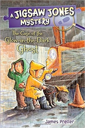 Jigsaw Jones: The Case of the Glow-in-the-Dark Ghost  by James Preller