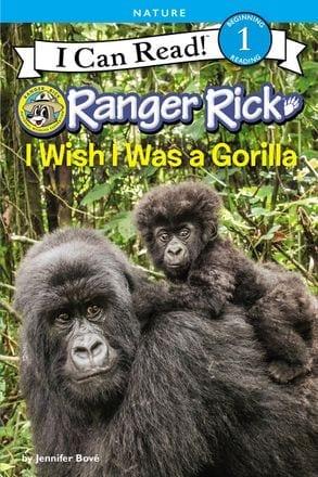 I Wish I Was a Gorilla  by Jennifer Bove