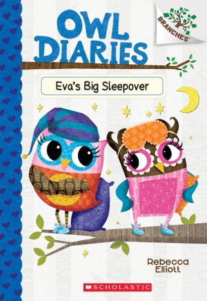 Owl Diaries: Eva's Big Sleepover